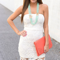 Stand By Me Dress, Cream