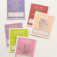 Secret Garden Seed Packet