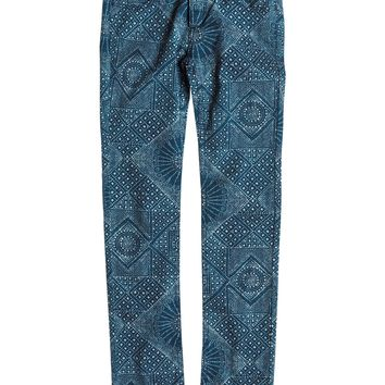 Roxy - Girls 7-14 Emmy Printed Jeans