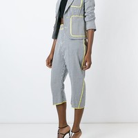 Dsquared2 Gingham Check Cropped Trousers - Boutique Mantovani - Farfetch.com
