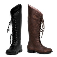 Ellie Shoes E-181-HUNTRESS 1 Inch Womens Knee High Boot