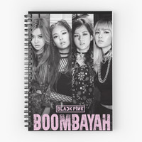 'blackpink boombayah' Spiral Notebook by axeladebry