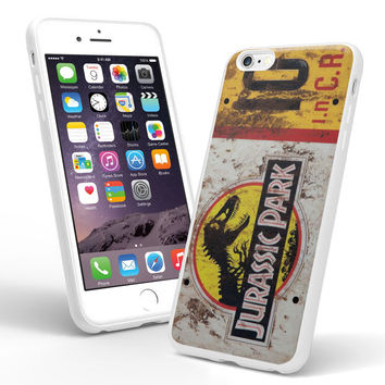 Jurassic Park License Plate Jeep for iPhone 5