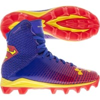 Under Armour Kids' Highlight RM Alter Ego Superman Football Cleat