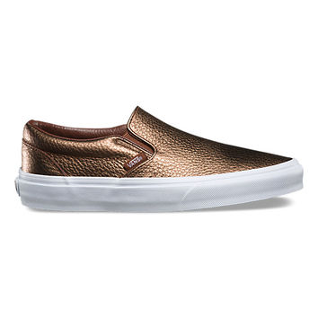 Metallic Leather Slip-On | Shop at Vans
