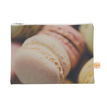 "Laura Evans ""Macaroon Goodness"" Pastel Food Everything Bag"