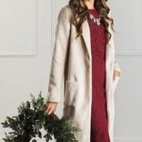 Esme Cream Heavy Coat