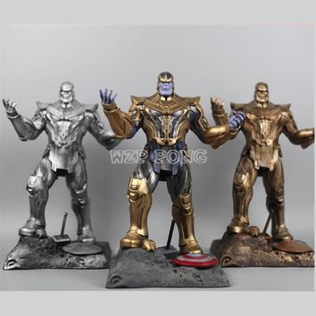 3 Colour  35 CM Resin Bust Thanos Model Avengers 3 Avengers: Infinity War - Part I /II Collection Statue Thanos  Action Figure