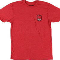 Spitfire Lil Bighead Fill T-Shirt M Red Heather