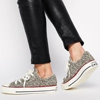 Converse Chuck Taylor All Star Charcoal Winter Knit Trainers