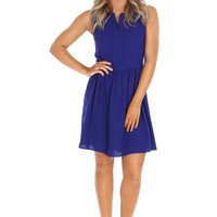 Royal Classic Fit & Flare Dress