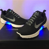 Mag!Nike HyperAdapt 1.0 black blue Basketball Shoes 40-47