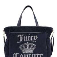 Juicy Crown Velour Baby Bag by Juicy Couture