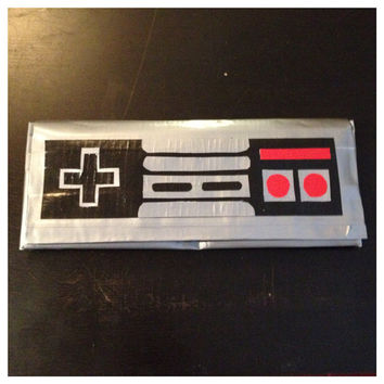 Nintendo Controller Duct Tape Wallet