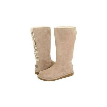 Uggs Boots Black Friday Deals Roseberry Tall 5734 Sand For Women 125 56