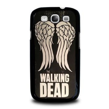 walking dead daryl dixon wings samsung galaxy s3 case cover  number 1
