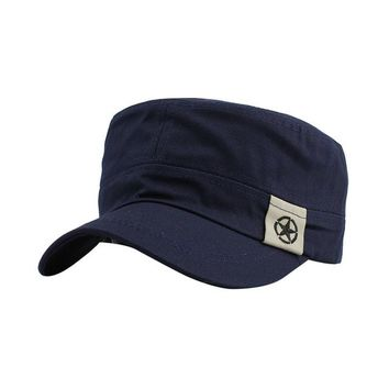 Casual Vintage Military Hat