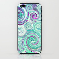 flow iPhone & iPod Skin by Sylvia Cook Photography