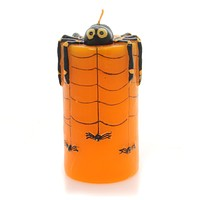 Halloween Spider Candle Halloween Decor