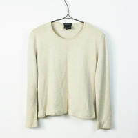 Cashmere Simple Scoop Top