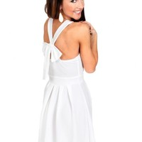 Back In Style White Dress | Monday Dress Boutique
