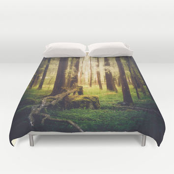 Come to me Duvet Cover by HappyMelvin