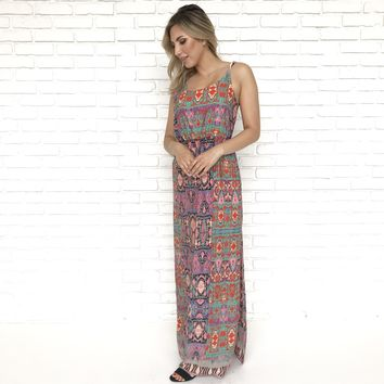 Tribal Vibes Maxi Dress
