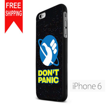 Hitchhiker'S Guide To The Galaxy  Don'T Panic  S NN iPhone 6 Case