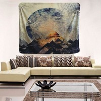 Egyptian Pyramid Bohemian Tapestry Polyester Wall Art