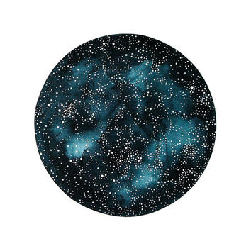 Imaginary Star Chart Number 8 - Large Contemporary Original Watercolor Painting - Astronomy, Constellation Art - by Natasha Newton