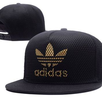 PEAPDQ7 Trendy Adidas Embroidered Mesh Adjustable Outdoor Baseball Cap Hats
