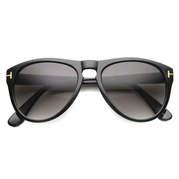 European Fashion Key Hole P3 Aviator Sunglasses 9868