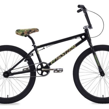 "Eastern Commando 24"" Limited Edition Black Complete BMX Bike"