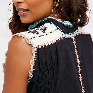 Free People Oaxaca Crochet Dress