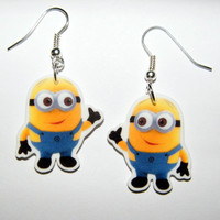 Despicable Me Minion Earrings  Gru,  Margo, Edith, Agnes
