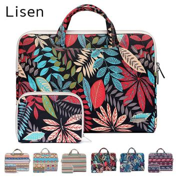"2018 Hot Canvas Bag For Laptop 11"",13"",15"",15.6 inch, Handbag For MacBook Notobook 13.3"",15.4"" Sleeve Case, Free Drop Shipping"