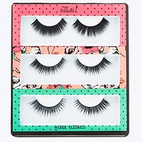 Faux Lashes Trio in Polka Dot