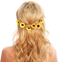 Sunflower Hairpin