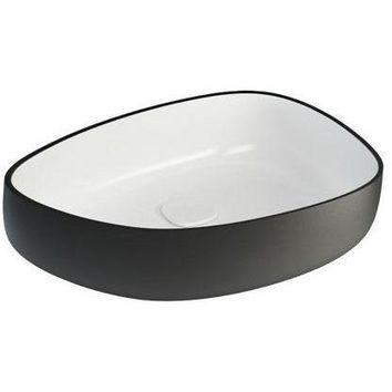 Fosi Shapeless Ceramic Vessel Sink Bowl Above Counter Sink Lavatory Washbasin