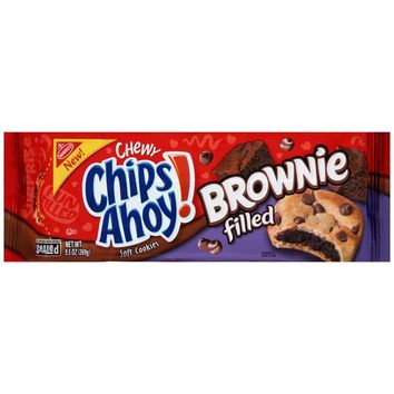 Walmart: Nabisco Chewy Chips Ahoy! Brownie Filled Soft Cookies, 9.5 oz