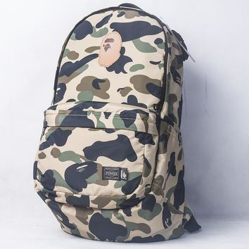 Stylish On Sale Casual College Hot Deal Comfort Back To School Camouflage Pc Backpack [211441549324]