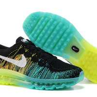 mens size nike air max flyknit running shoes