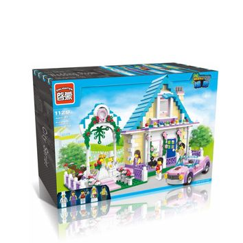 Building Blocks Wedding Room Compatible with Legoelieds Educational Toys for Children 613 pcs 1129