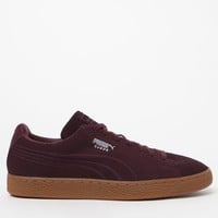 Puma Suede Classic Debossed Wine Shoes at PacSun.com