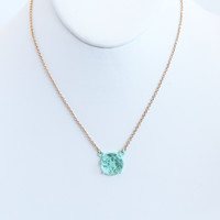 Mint Laminated Necklace