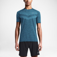 Nike Dri-FIT Knit Short-Sleeve Men's Running Shirt