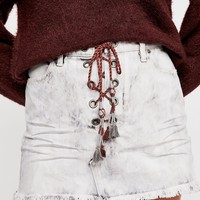 Kaia Lace-Up Skirt