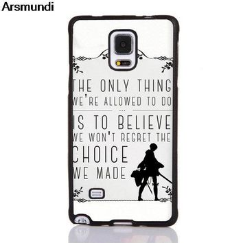 Cool Attack on Titan Arsmundi  Levi Rivaille Phone Cases for iPhone 4S 5C 5S 6S 7 8 6 Plus X for Samsung Case Soft TPU Rubber Silicone AT_90_11