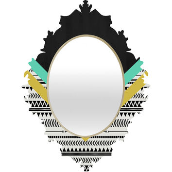 Allyson Johnson Mixed Aztec 1 Baroque Mirror
