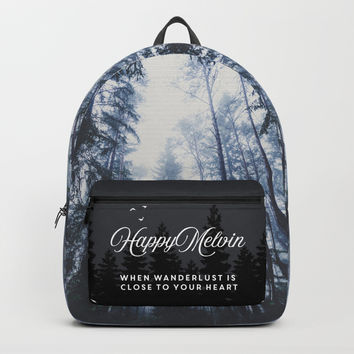 The mighty pines Backpack by happymelvin